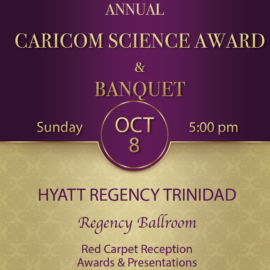 2017 CARICOM Science Award Banquet
